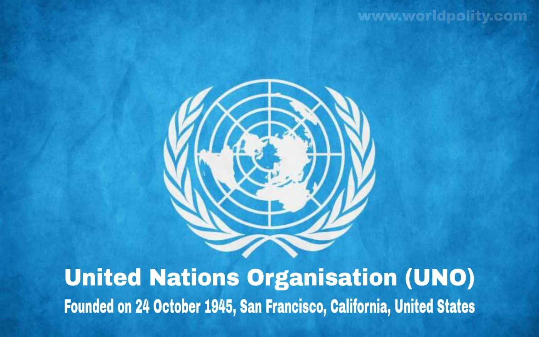 ( Best 35+ ) United Nations Organisation MCQ