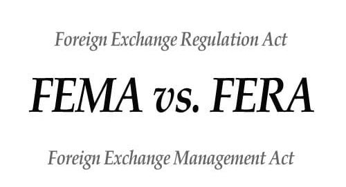 ( Best ) FERA And FEMA, Meaning, Act and Diffrence